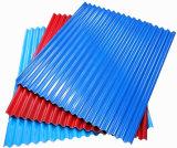 Длинней покрашенный пядью лист толя Apvc/UPVC/PVC для строительного материала
