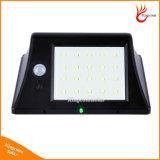 Neues helles Solarim Freien der Versions-20 LED mit den Bewegungs-Fühler-Solarlampen wasserdicht für Garten-Sicherheits-Lampe
