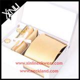 Hanky di seta Handmade del gemello del legame del jacquard di 100% impostato per gli uomini