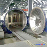 薄板にされたガラスの生産工場のための3000X6000mmガラスのオートクレーブ
