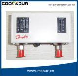 Controle de Pressão Duplo Coolsour Refriferation Montagem