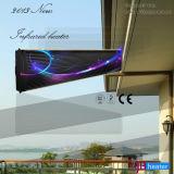 Wand oder Decke eingehangene leuchtende im Freieninfrarotheizung