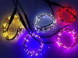 Домашний свет шнура USB медного провода рождества СИД украшения