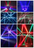 新しく熱い販売DJは装置9 Eyes12W RGBW 4in1くもLEDの移動ヘッドビームライトを上演する