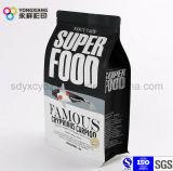 Fond plat des aliments pour animaux Les emballages en plastique avec sac ziplock