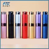 Hete Mini Draagbaar van de Verkoop voor Fles van het Parfum van het Aluminium van de Reis de Navulbare