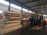 Madeira compensada laminada construção Shuttering antiderrapante do Poplar do melhor preço