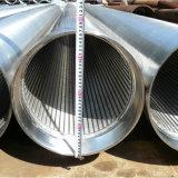 ステンレス鋼のジョンソンスクリーンの井戸の管フィルターWegeワイヤースクリーン