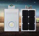 Ahorro de energía del alumbrado público LED 8W con panel solar, y el LED de batería en el aparejo de una iluminación por energía solar
