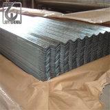 Feuille en acier de toiture galvanisée par épaisseur de la perfection 0.17mm