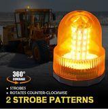 Amarelo/âmbar super brilhante girando LED Giratório Luz Estroboscópica Giratória
