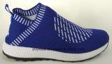 Chaussures de sport supérieure Flyknitting super léger confort EVA des chaussures de course (817-171)
