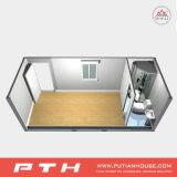 Casa prefabbricata e durevole del contenitore con il luogo della mobilia