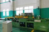 La placa de acero y nivelación de la línea de maquinaria de corte