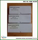 Appareil de sécurité pour bébé Jouets Test Equipment Sharp Edge Tester with 21 Sharp Tape Kits