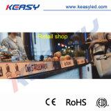 Exibição de publicidade no interior de alto desempenho para os mercados de lojas de bares