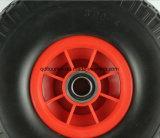 カートのトロリー手押し車Wb0208の一輪車の折るワゴン