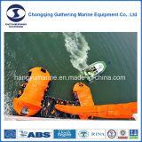 Sistema vertical inflável marinho da evacuação do SOLAS