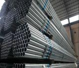 Tubo de acero galvanizado del galvanizado Q235/tubo redondo de acero galvanizado en baño caliente