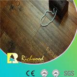 Pavimentazione laminata impermeabile della quercia raschiata mano AC4 dell'annuncio pubblicitario 12.3mm