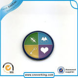 Spécial Logo Forme étoilée Pin à anneaux en métal pour école