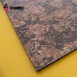 Панель ACP взгляда камня Ideabond алюминиевая составная декоративная