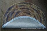 Manta hecha a mano de la alfombra copetuda de la mano del sisal