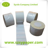 Синтетическая бумажная термально липкая бумага собственной личности стикера