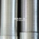 Filtro per pozzi dell'acqua di separazione di solido liquido del tubo dello schermo dell'acciaio inossidabile