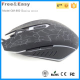 Nuovo USB 6D Optical Wired Game Mouse di Design per Desktop ed il computer portatile