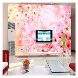 [غنغزهوو] تلفزيون جدار زخرفيّة رسم جداريّ زهرة ورق جدار