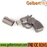 El mejor mecanismo impulsor del flash del USB del arma del metal del precio para su insignia