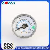 SMC Dry / Pneumatic Pressure Gauge 1MPa 10kg / Cm2 40mm Dial Face OEM