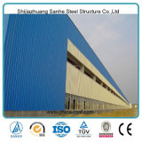 Industrial Steel Structure Building Prefabricated Hall for Exhibition clouded