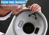 Equipo de madera del salón de la lámpara del vector del analizador del explorador de la piel