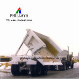 Hydraulischer Speicherauszug-Lastkraftwagen mit Kippvorrichtung, der halb Schlussteil spitzt
