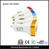 Caricatore promozionale doppio universale dell'automobile del USB di abitudine (OS-CH005)