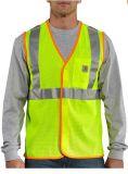 Usure multi de travail de poches de gilet de sécurité routière de garantie des marques réfléchissantes de Salut-Force