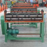 El panel de acero del color que raja la maquinaria que raja el equipo que forma la línea