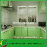 Gabinetes de cozinha do vácuo da membrana Cabinets/PVC do PVC