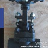 Valvola a saracinesca di estremità Welded/B.W del volante A105&A216 Wcb
