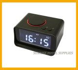 Grande despertador LCD com função de carregamento para o hotel