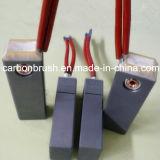 Escova de carbono NCC634 de Morgan da alta qualidade para o gerador das energias eólicas