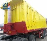 Neigen des China-Fertigung-gute Qualitätshartes Flachbett-3axle/Kipper-Schlussteil