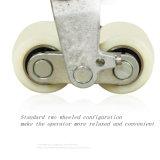 3т гидравлической рукоятки погрузчик для транспортировки поддонов с нейлоновым колеса