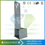 plate-forme résidentielle de levage de débronchement d'ascenseurs de ménage de 200kg 1.5m à l'extérieur