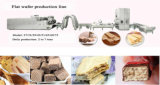 Печенье вафли Saiheng делая линию для горячего сбывания