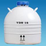 A série de laboratório de boca larga do tanque de nitrogênio líquido para Armazenamento