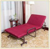 Складывая кровати гостя кровати рамка Rollaway стальная с тюфяком пены