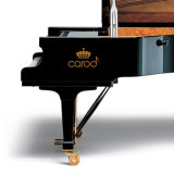 Schwarzes grosses großartiges Klavier 275